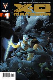 X-O Manowar #1 Gold Logo