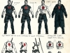 Bloodshot 4 Character Design Covers