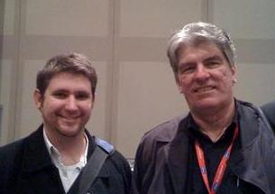 Sean and Jim Shooter at NYCC