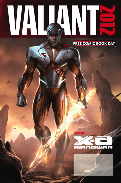 Valiant Comics FCBD 2012 Cover