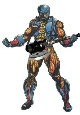 Aric, Visigoth Metal Superstar