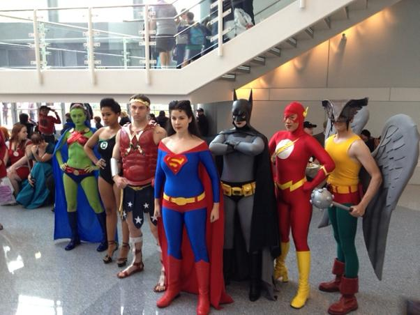 Gender Swapped Justice League