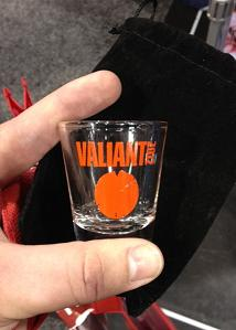Bloodshot Valiant Shot Glass