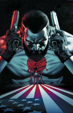 Bloodshot 1 Cover regular Arturo Lozzi