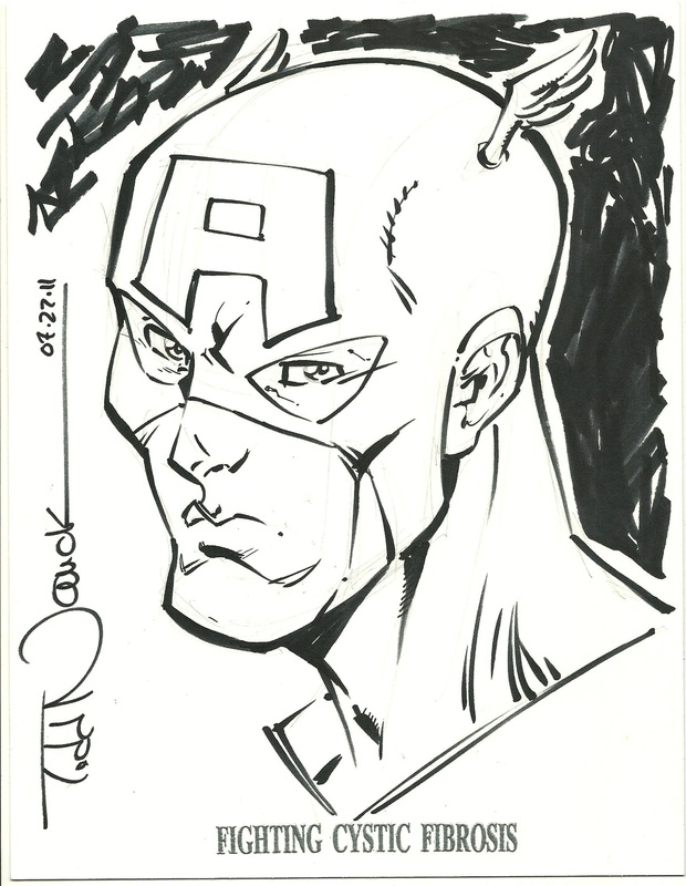 Captain America by Todd Nauck