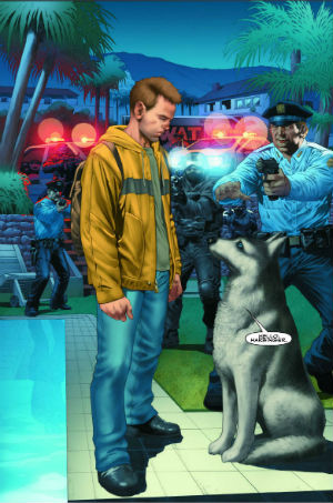 Harbinger 2 Cover regular Arturo Lozzi