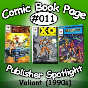 Publisher Spotlight on Valiant Comics