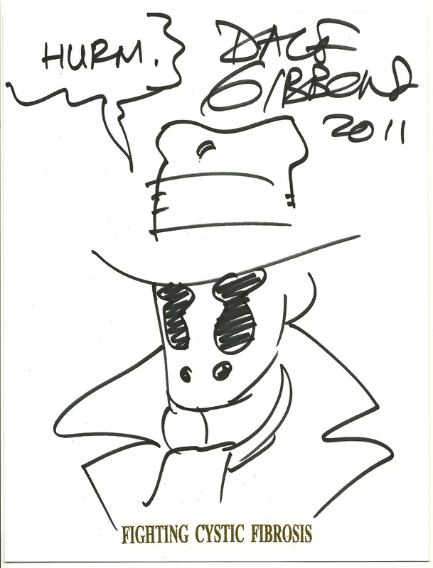 Rorschach by Dave Gibbons FCF sketch