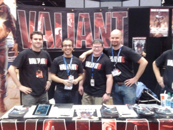 Valiant Team at C2E2