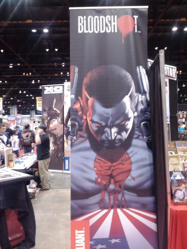 Bloodshot Banner at C2E2