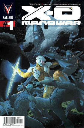 X-O Manowar #1 Regular Cover