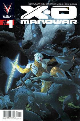 X-O Manowar #1 Regular Cover
