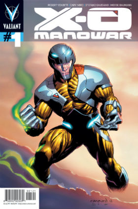 X-O Manowar #1 Pullbox Cover
