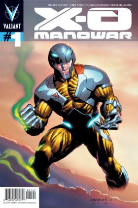 X-O Manowar #1 Pullbox Cover