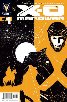 X-O Manowar #1 Aja Cover