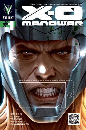 X-O Manowar #1 QR Cover