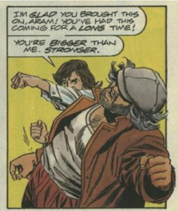 Aram vs Gilad panel 1