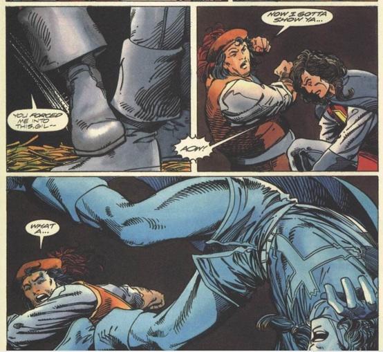 Eternal Warrior 8 panel 1