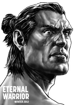 Eternal Warrior from Valiant FCBD