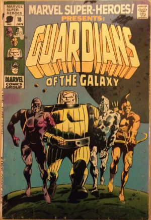 Marvel Super-Heroes 18 Guardians of the Galaxy
