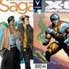 Saga 1 and X-O Manowar 1 cover