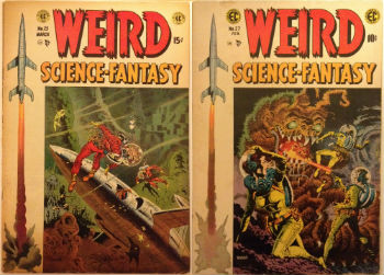 Weird Science-Fantasy 23 and 27