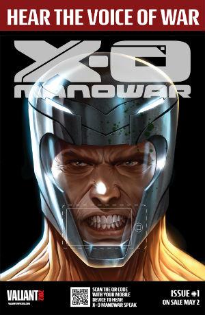 X-O Manowar QR Code Poster