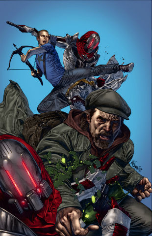 Archer and Armstrong 1 Cover