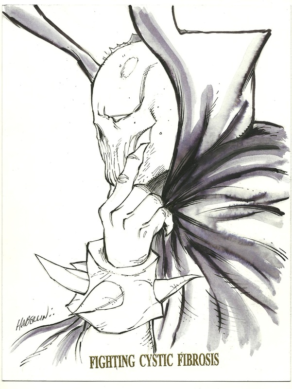 Brian Haberlin Spawn sketch