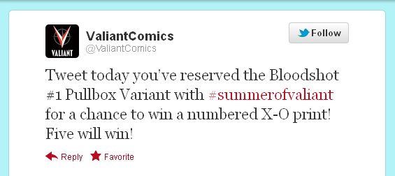 #summerofvaliant twitter contest