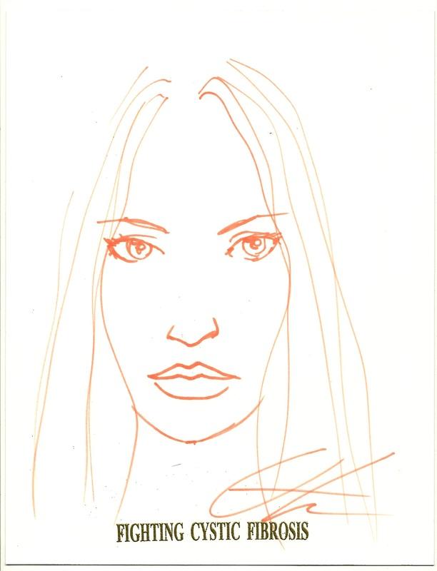 Greg Horn Emma Frost Sketch
