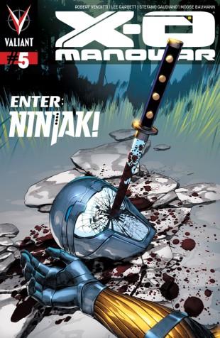 X-O Manowar 5 Cover with Ninjak