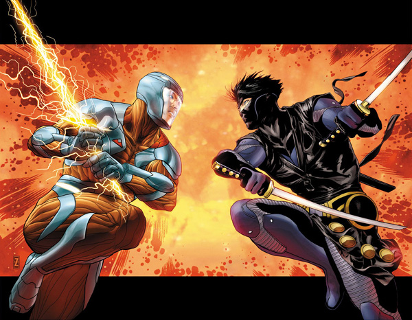 X-O Manowar 5 Zircher Interlocking Variant Covers