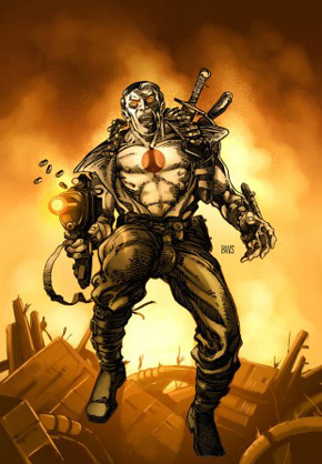 Bloodshot Hardcover Cover Art
