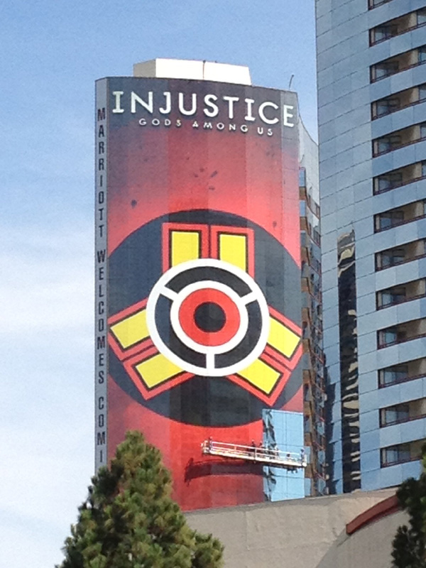 Injustice Skin on the Marriott