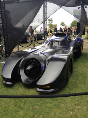 The Keaton Batmobile