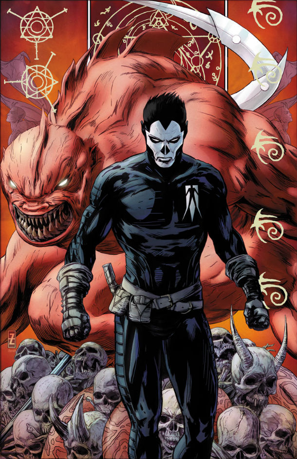 Shadowman Cover Patrick Zircher