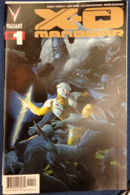 X-O Manowar 01 Gold
