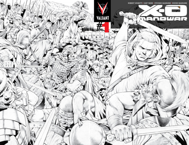 X-O Manowar 1 4th Print
