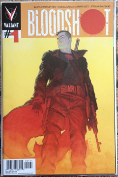 bloodshot 1 variant cover