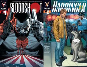 Bloodshot 1 and Harbinger 2