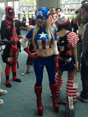 Captain America Girl