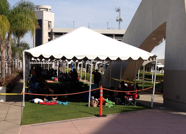 People Queuing For Hall H