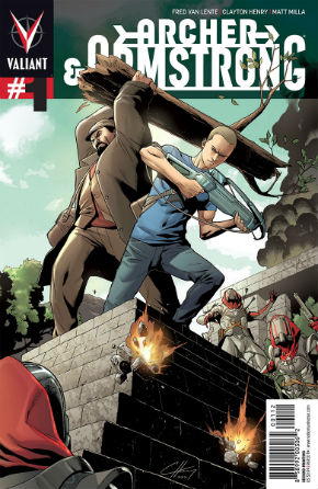 Archer & Armstrong #1 Second Printing Cover