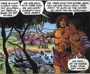 Aram and Gilad in Mesopotamia