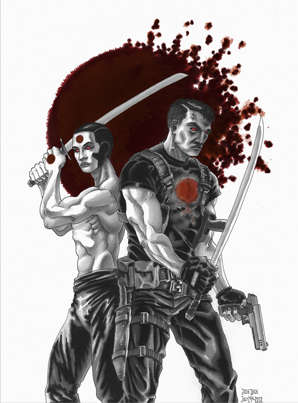 Rai and Bloodshot Fan Art Friday Josh Deck