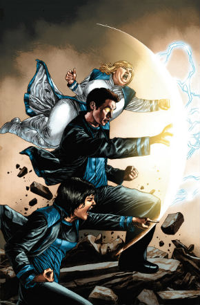 Harbinger #7 Cover Art