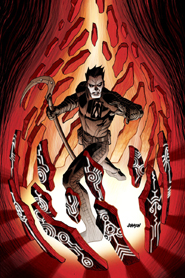 Shadowman 1 Cover Johnson Variant