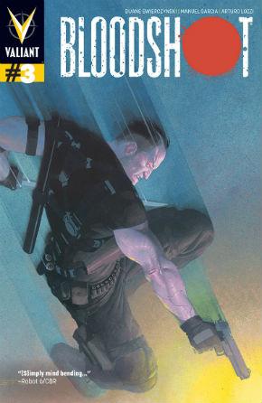 Bloodshot 3 Cover Esad Ribic