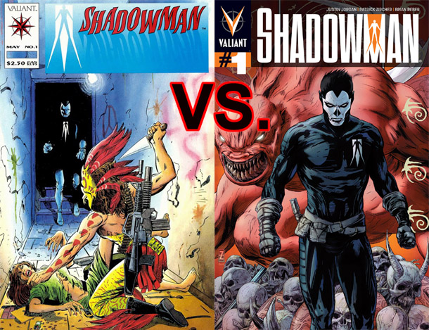 Shadowman Cover Comparison